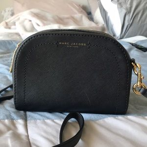 Marc jacobs leather black purse